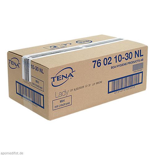 TENA LADY EINLAGEN MINI, 10X20 ST, Essity Germany GmbH