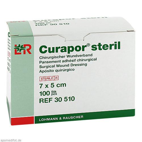 CURAPOR Wundverband steril chirurgisch 5x7 cm, 100 ST, Lohmann & Rauscher GmbH & Co. KG
