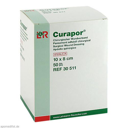CURAPOR Wundverband steril chirurgisch 8x10 cm, 50 ST, Lohmann & Rauscher GmbH & Co. KG