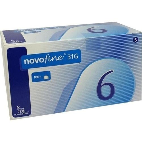 Novofine 6 Kanülen 0.25x6 mm, 100 ST, Emra-Med Arzneimittel GmbH