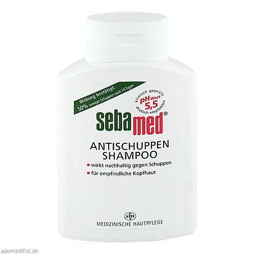 Sebamed Anti-Schuppen-Shampoo, 200 ML, Sebapharma GmbH & Co. KG