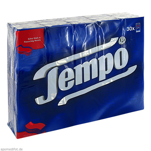 TEMPO TASCHENT O MENTH, 30X10 ST, Essity Germany GmbH