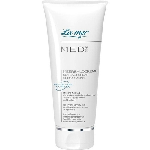 La mer MED Neu Meersalzcreme ohne Parfüm, 50 ML, La Mer Cosmetics AG