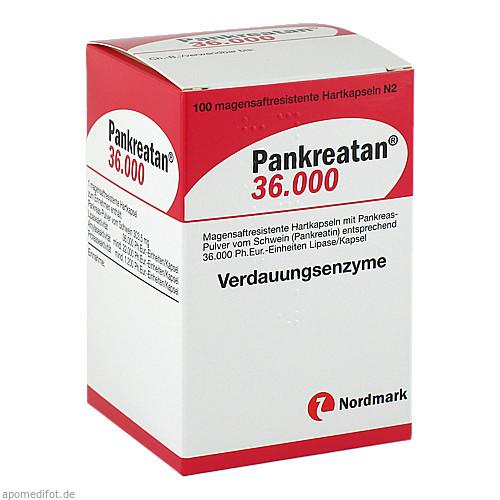 PANKREATAN 36000, 100 ST, NORDMARK Pharma GmbH
