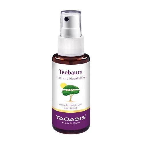 Teebaum Fuß-Spray, 50 ML, Taoasis GmbH Natur Duft Manufaktur