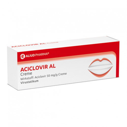 ACICLOVIR AL CREME, 2 G, Aliud Pharma GmbH
