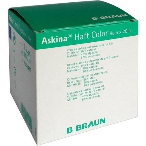 Askina Haft Color blau 8cmx20m, 1 ST, B. Braun Melsungen AG
