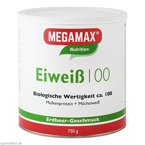 EIWEISS 100 ERDBEER MEGAMAX, 750 G, Megamax B.V.