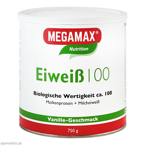 EIWEISS VANILLE MEGAMAX, 750 G, Megamax B.V.