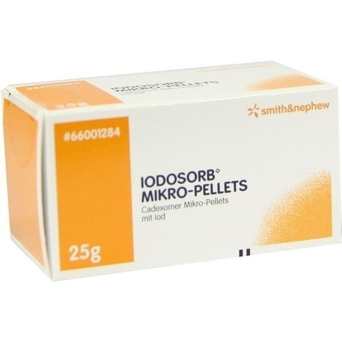 IODOSORB Mikro Pellets, 25 G, Smith & Nephew GmbH