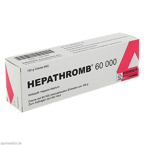 HEPATHROMB 60000, 150 G, Riemser Pharma GmbH