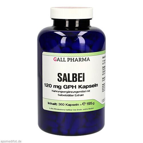 Salbei 120 mg GPH Kapseln, 360 ST, Hecht-Pharma GmbH