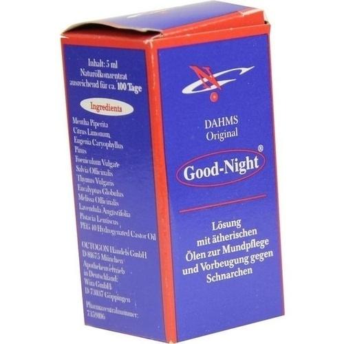GOOD NIGHT, 5 ML, von Wülfing GmbH & Co. KG