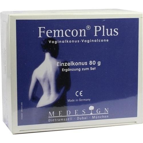 Femcon Plus 80 Vaginalkonus, 1 ST, Medesign I. C. GmbH