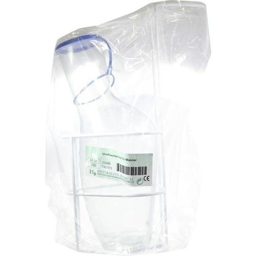 Urinflaschen Set f.Männer m.Flasche u.Halter, 1 ST, Brinkmann Medical Ein Unternehmen der Dr. Junghans Medical GmbH