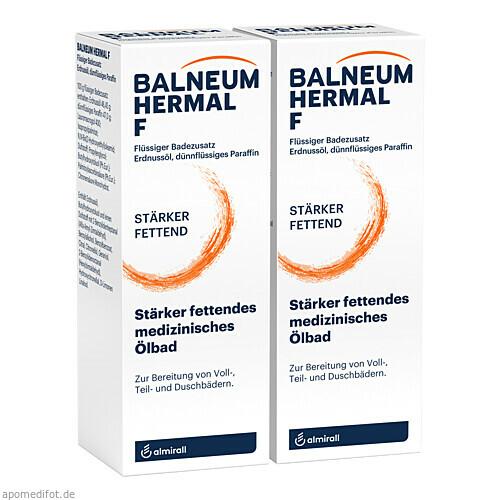 BALNEUM HERMAL F, 2X500 ML, Almirall Hermal GmbH