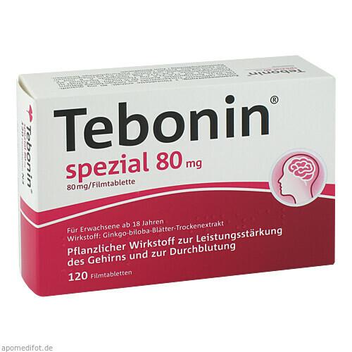 Tebonin spezial 80mg, 120 ST, Dr.Willmar Schwabe GmbH & Co. KG