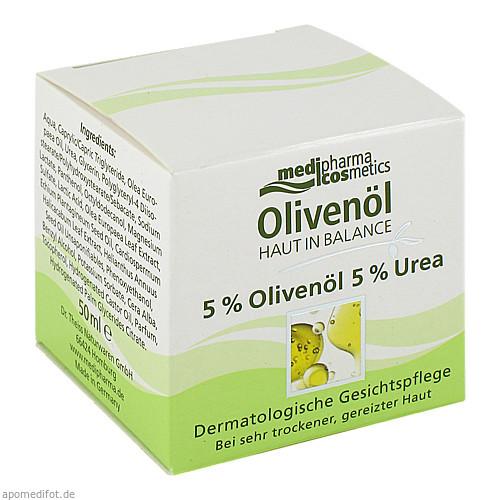 Haut in Balance Olivenöl Gesichtspflege 5%, 50 ML, Dr. Theiss Naturwaren GmbH