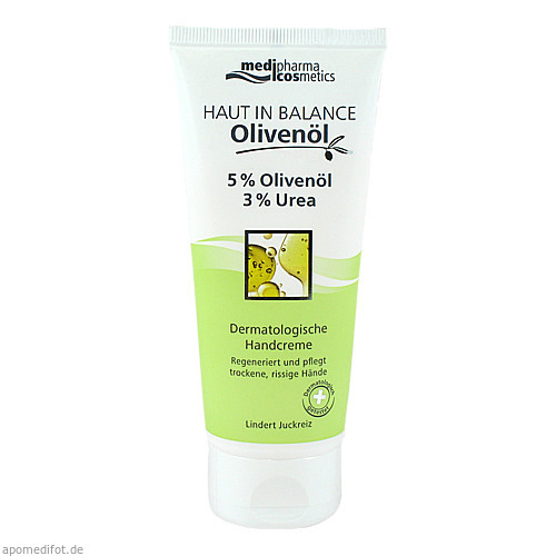 Haut in Balance Olivenöl Handcreme 5%, 100 ML, Dr. Theiss Naturwaren GmbH