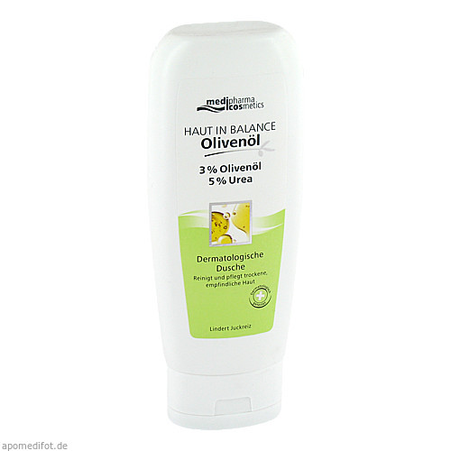 Haut in Balance Olivenöl Dusche 3%, 200 ML, Dr. Theiss Naturwaren GmbH
