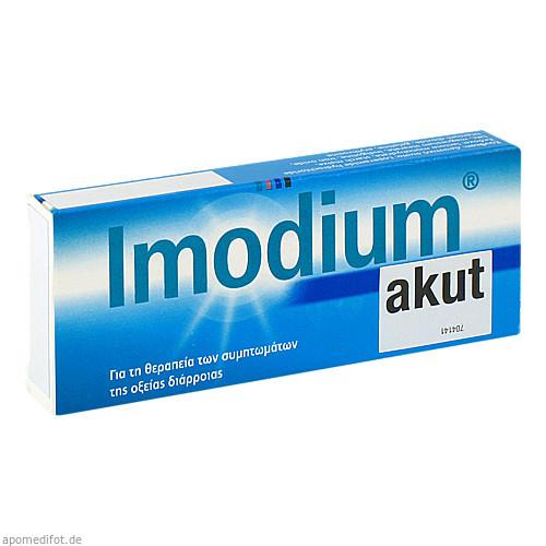 Imodium akut, 6 ST, Emra-Med Arzneimittel GmbH