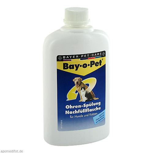 Bay-o-Pet Ohrreiniger NACHFUELLFLASCHE, 250 ML, Elanco Deutschland GmbH