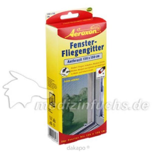 Aeroxon Fenster - Fliegengitter anthrazit, 1 ST, Aeroxon Insect Control GmbH