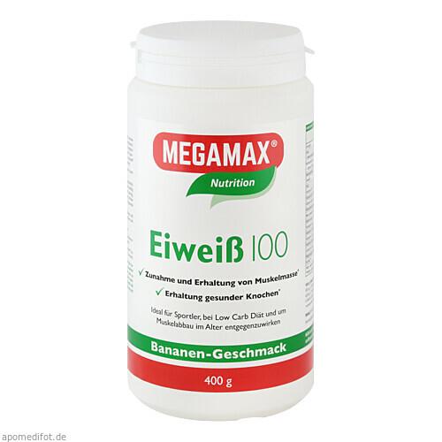 EIWEISS 100 BANANE MEGAMAX, 400 G, Megamax B.V.