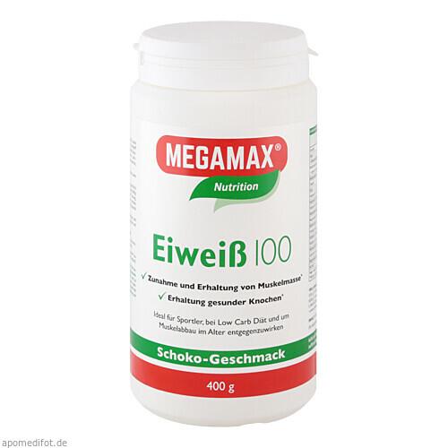 EIWEISS 100 SCHOKO MEGAMAX, 400 G, Megamax B.V.