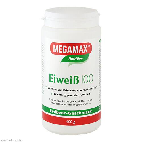 EIWEISS 100 ERDBEER MEGAMAX, 400 G, Megamax B.V.
