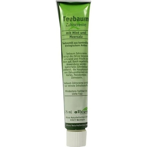 Teebaum Zahncreme, 75 ML, Allcura Naturheilmittel GmbH