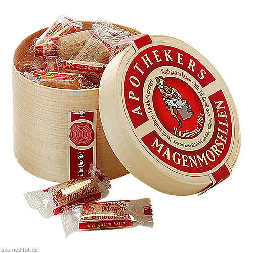 APOTHEKERS MAGENMORSELLEN, 100 G, Dr.R.Pfleger GmbH