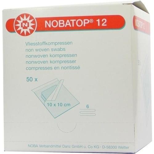 NOBATOP 12 10x10CM 2 STERILE KOMPRESSEN PRO SET, 50X2 ST, Nobamed Paul Danz AG