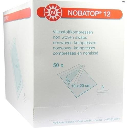 NOBATOP 12 10x20CM 2 STERILE KOMPRESSEN PRO SET, 50X2 ST, Nobamed Paul Danz AG