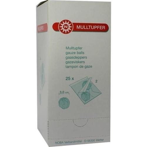 MULLTUPFER PFLAUMENGROSS 2 STERILE TUPFER PRO SET, 25X2 ST, Nobamed Paul Danz AG