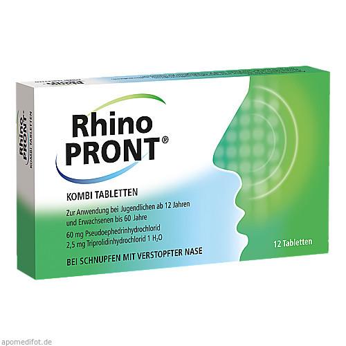 Rhinopront Kombitabletten, 12 ST, Recordati Pharma GmbH