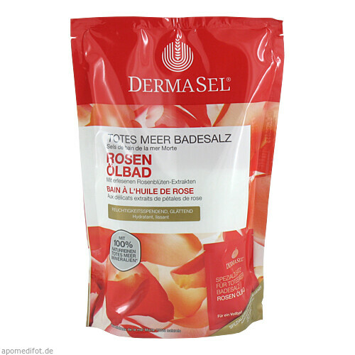 DermaSel Totes Meer Badesalz + Rose SPA, 1 P, Fette Pharma AG