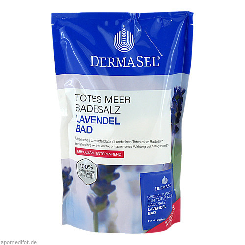 DermaSel Totes Meer Badesalz + Lavendel SPA, 1 P, Fette Pharma GmbH