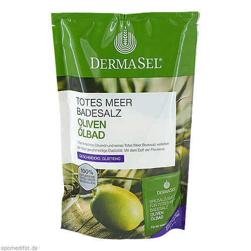 DermaSel Totes Meer Badesalz + Olive SPA, 1 P, Fette Pharma AG