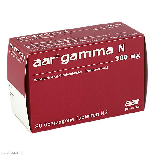 AAR GAMMA N 300 mg Dragees, 80 ST, aar pharma GmbH & Co.KG