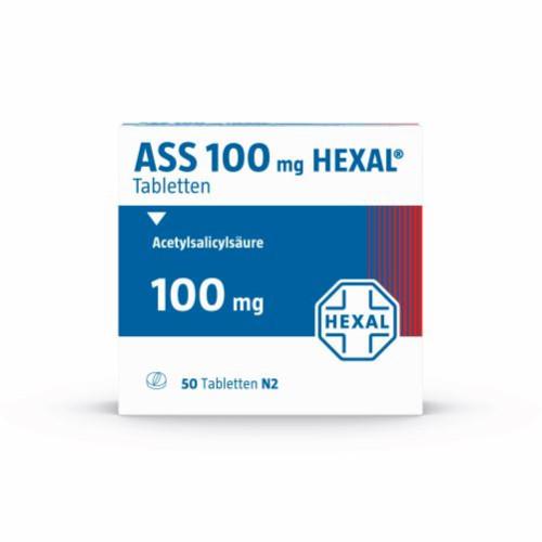 ASS 100 HEXAL, 50 ST, HEXAL AG
