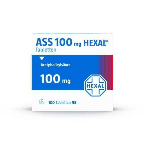 ASS 100 HEXAL, 100 ST, HEXAL AG