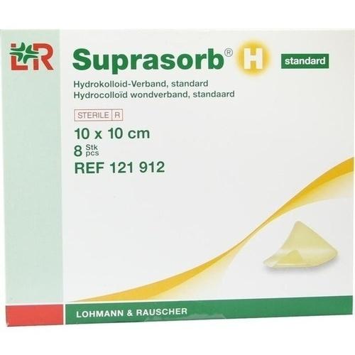 SUPRASORB H Hydrokoll.Verb.standard 10x10 cm, 8 ST, Lohmann & Rauscher GmbH & Co.KG