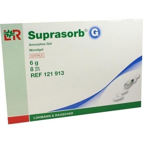 Suprasorb G Amorphes Gel 6g Spritze, 8X6 G, Lohmann & Rauscher GmbH & Co. KG