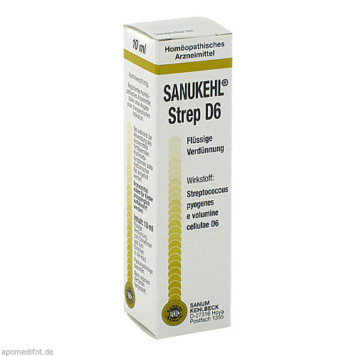 SANUKEHL Strep D 6, 10 ML, Sanum-Kehlbeck GmbH & Co. KG
