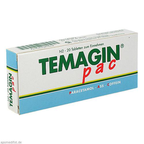 Temagin PAC, 20 ST, Axicorp Pharma GmbH