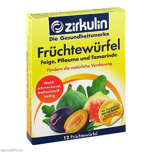 Zirkulin Früchtewürfel, 12 ST, Roha Arzneimittel GmbH