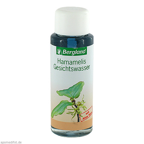 Hamamelis Gesichtswasser m Aloe, 125 ML, Bergland-Pharma GmbH & Co. KG