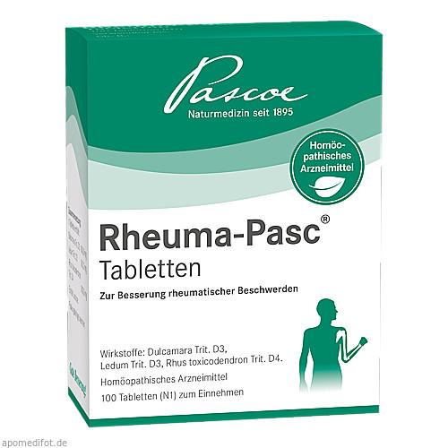 Rheuma-Pasc Tabletten, 100 ST, Pascoe pharmazeutische Präparate GmbH