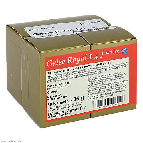 Gelee Royal 1x1 pro Tag, 160 ST, Fbk-Pharma GmbH
